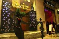 16/08/2013 - Façana Swing Maniacs a les Festes de Gràcia