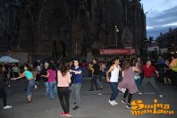 Classe Oberta de Swing Maniacs a la Sagrada Familia