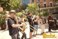 07/06/2014 - Clandestí a la Plaza del Carmen, Madrid