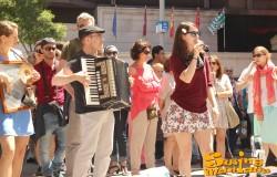 08/06/2014 - Clandestino en Plaza del Callao
