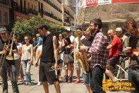 08/06/2014 - Clandestí a la Plaza del Callao