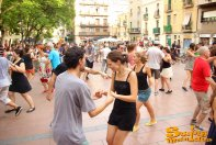 09/08/14 - Swing d'Estranquis a la plaça Revolució!