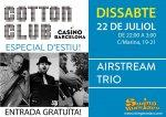 Special Cotton Club Swing Jam with Airstream Trio!