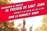 Ballada d'inauguració del Mercat del Passeig de Sant Joan!