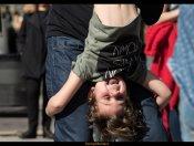 21/02/16 - Ball i classe oberta de Swing a la Rambla del Poblenou